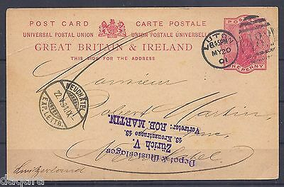AM.36 - GB & Ireland postal stationery, 1901, Express, QV, Arms Type