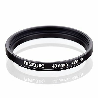 RISE(UK) 40.5-42mm 40.5mm-42mm Step-Up Fiter Ring Adapter 40.5-42