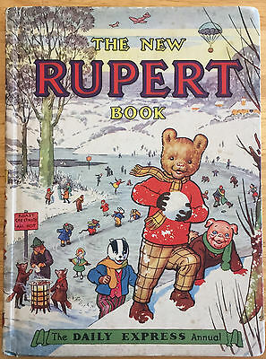 RUPERT ORIGINAL ANNUAL 1951 Not Inscribed Not Price Clipped Very Good