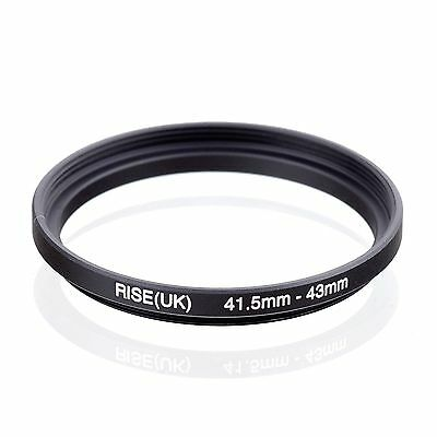 RISE(UK) 41.5-43 41.5mm to 43mm Step-Up Fiter Ring Camera Lens Adapter