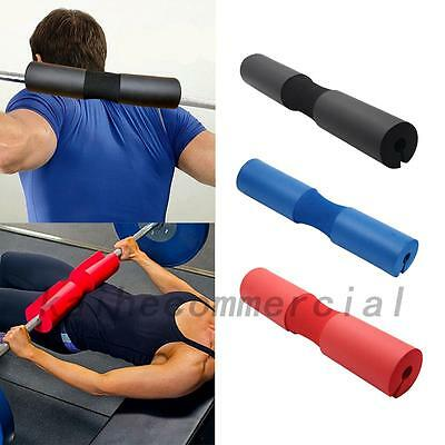 Barbell Pad Pull Up Squat Bar Shoulder Support Weight Fitness Weight Lifting