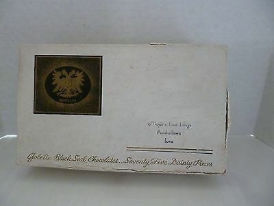 Vintage Mayer's or Moyer's Best Drugs Marshalltown Iowa Chocolate Box Only