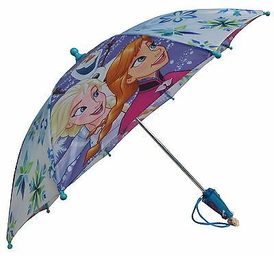 Disney Frozen Family Anna Elsa and Olaf Umbrella - Toddler 3D Handle FZR74775ST