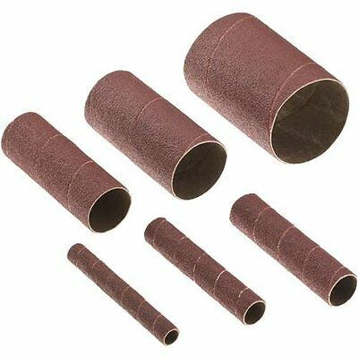 Steelex D3838 Sanding Sleeves for W1831, 240 Grit, Set of 6
