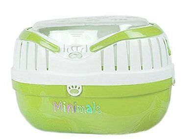 Minimals Small Animal Guinea Pig Chinchilla Holiday Travel Vet Carrier Green