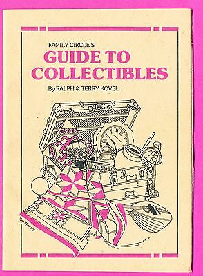 Vintage Family Circle Pocket Guide to Collectibles by Ralph & Terry Kovel (152)