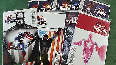 Captain America Reborn 2010 #1-6 Complete Series Variant 1 4 5 6 Lot of 10 nm