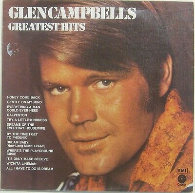 Glen Campbells greatest hits