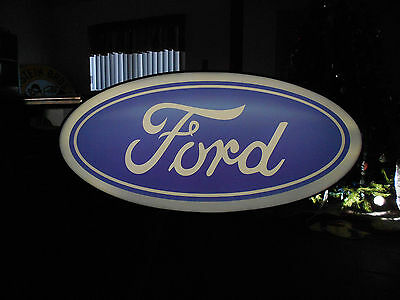 Ford Lighted Oval Sign
