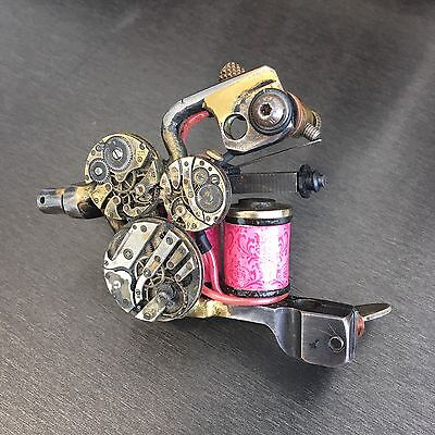 Paulo Cruzes One Off Streampunk Tattoo Machine