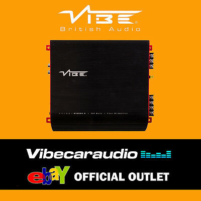 Vibe Pulse Stereo 2 300 Watts 2 Channel Car Speaker Subwoofer Amplifier