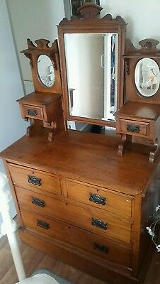 Vintage Edwardian chest of drawers.