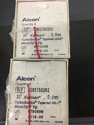 Alcon Phaco Tip (lot Of 12) 30 Degree Tapered Kel 8065750263