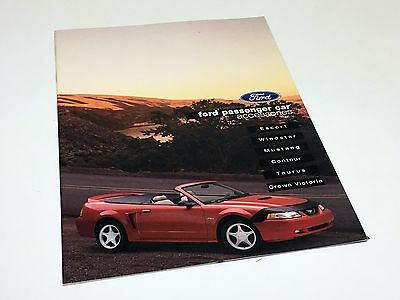 2000 Ford Taurus Mustang Escort Crown Victoria Windstar Accessories Brochure