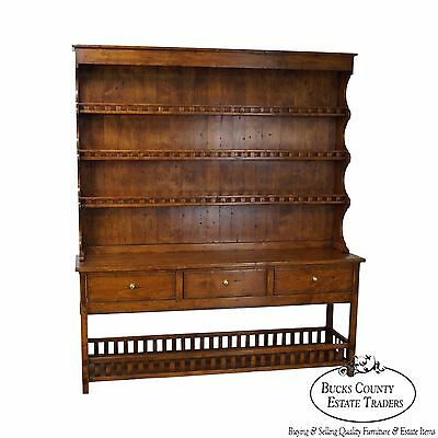 Guy Chaddock Melrose Collection 2 Piece Welsh Cupboard