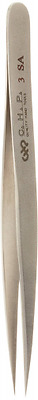 Hakko CHP 3-SA Stainless Steel Non-Magnetic Precision Tweezers with Very Fine