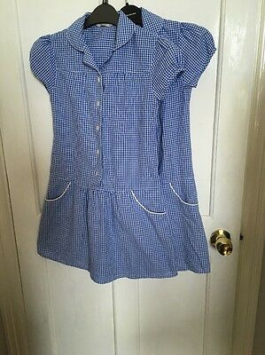 Marks And Spencer School Summer Dresses X 2 Girls Age 10