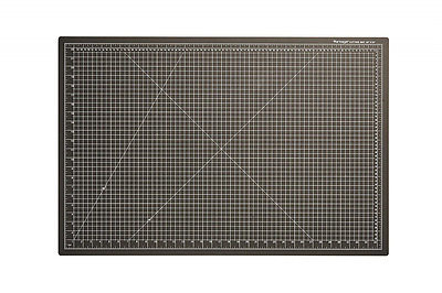 "Dahle 10673 Vantage Cutting Mat, 24"" x 36"", Black"