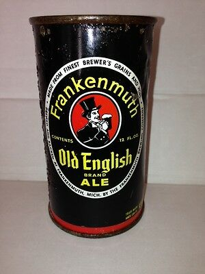 Frankenmuth Old English Ale Flat Top Beer Can