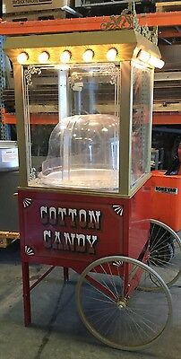 Vintage Style COMMERCIAL Cotton Candy Machine Maker - TORNADO 3005ss