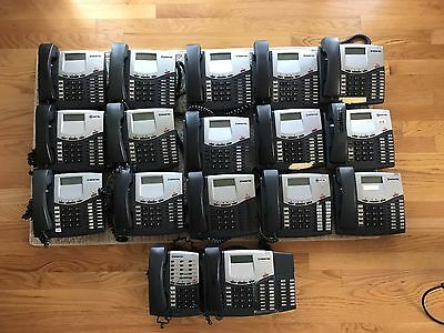 Inter-Tel Axxess Phone System with 17 Phones