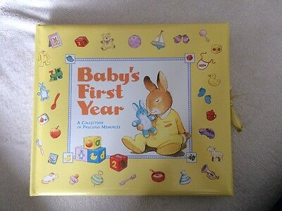 Lovely 'Baby's First Year' Memory Book. Brand New