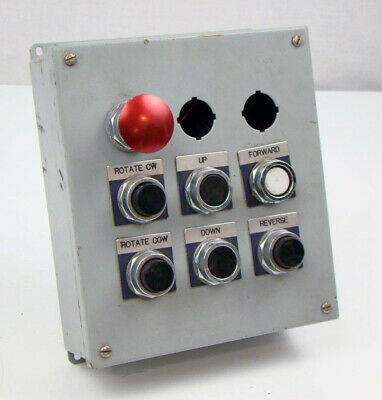 Control Panel with Furnas Push Button Switch, 52PA8B1