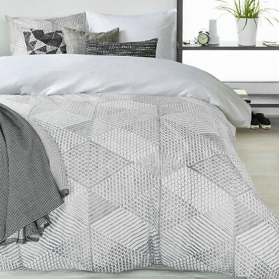 NEW Celi Grey Quilt Cover Set