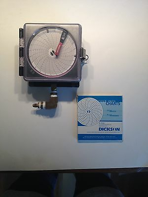 "Dickson 4"" Pressure Chart Recorder PW455"