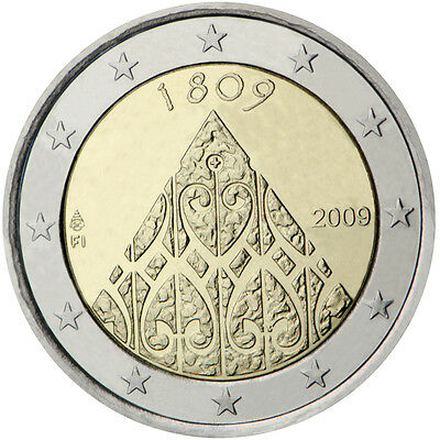 "2009 Finland 2 Euro Uncirculated Coin ""Diet of Porvoo 200 Years"""