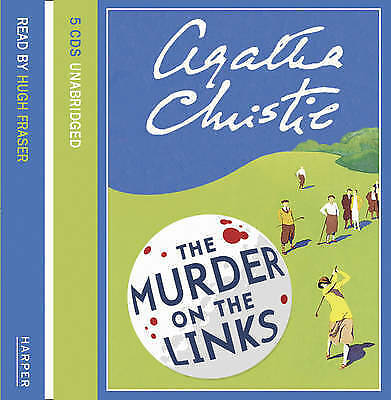 The Murder on the Links: Complete & Unabridged by Agatha Christie (CD-Audio,...