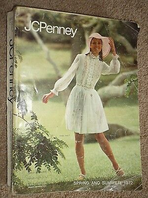 Vintage 1972 JCPenney Spring and Summer Department Store Catalog Pennies