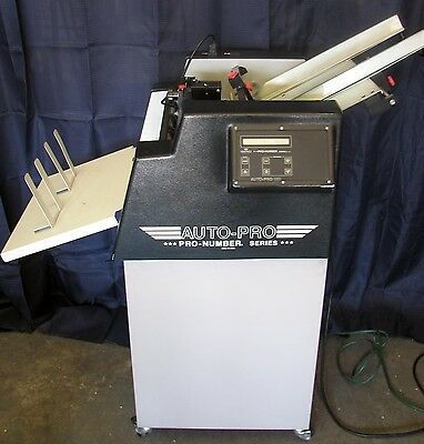 Count Auto Pro Ap-1 Numbering Machine, 1 Head