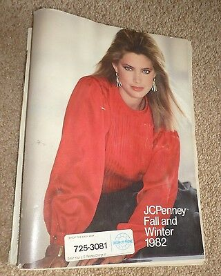 Vintage 1982 JCPenney Fall and Winter Department Store Catalog Pennies