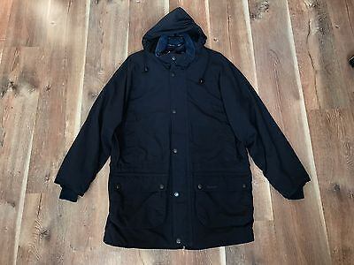Barbour Men's A952 Hooded Field Parka Jacket £220 Casuals L Large Mint