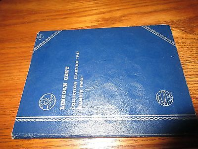 Lincoln Cent Collection Starting 1941 Number Two (free shipping)