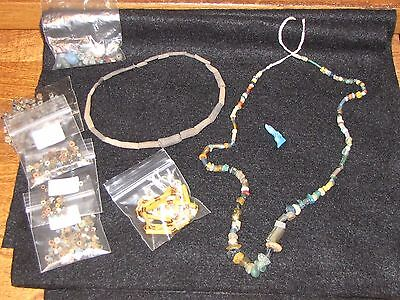 Authentic Ancient Egyptian Necklaces & Beads,  New Kingdom 1550-1070 B.C.