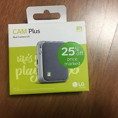 LG - CAM Plus LG G5 Camera Grip Extended Battery Shutter Button Silver OpenBox