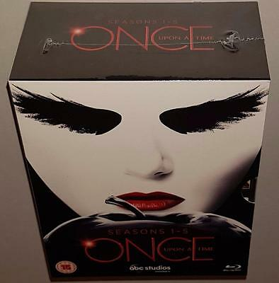 Once Upon A Time Complete Seasons 1 2 3 4 5 Brand New Sealed Region Free Bluray