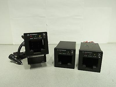 Lot of 3 Motorola TDN9816A Vehicle Battery Charger HT1000 MTS2000 MT2000 JT1000