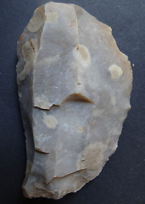 """▇ SCRAPER FLINT FRANCE """"Paris Basin""""  MESOLITHIC / NEOLITHIC FRENCH PREHISTORY"""