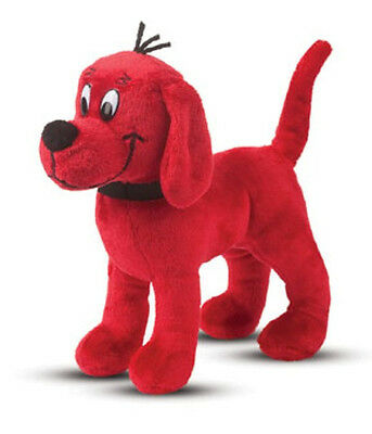 """CLIFFORD THE BIG RED DOG - Stuffed Clifford - 8"""" - DouglasToys - NEW - #7507"""