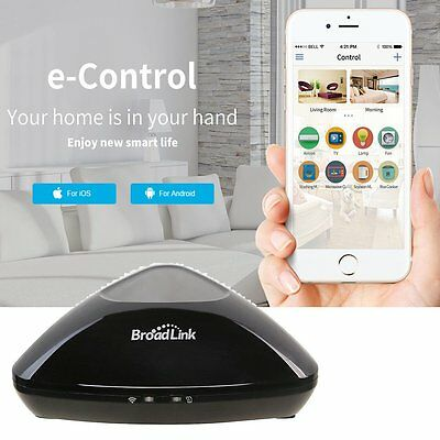 Home Automation Broadlink RM2 Wireless Phone WIFI Appliance Remote Controller