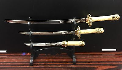 3-pc. Samurai Sword Letter Opener Set