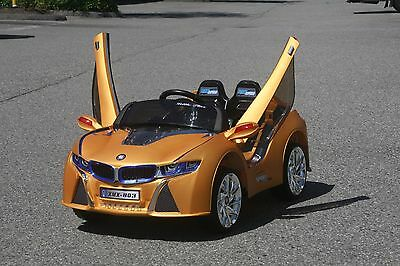 BMW i8 Style Kids Ride on Battery Powered Electric Car with Remote Control