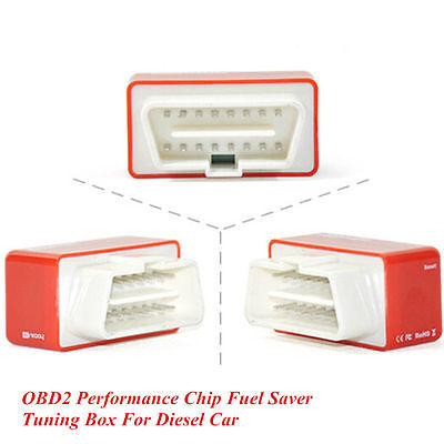 Universal For Diesel Cars OBD2 Plug&Drive Performance Tuning Chip Box Fuel Saver