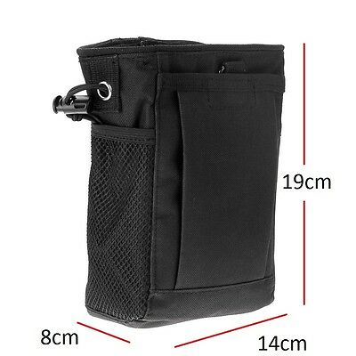 Dump Pouch Utility Bag Hunting Hiking Gun Sling Molle Belt Tactical Magazine