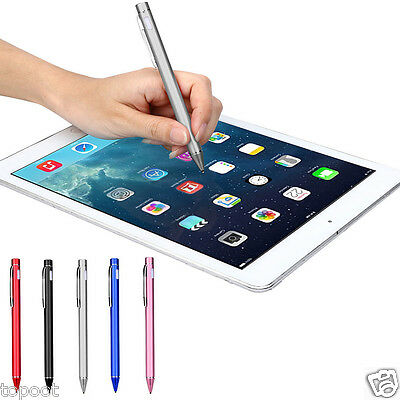 Screen Touch Pen Stylus With USB Charging Wire For Apple iPad 2 3 4 Pro & Air