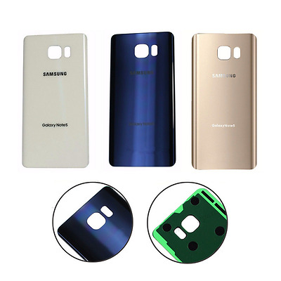 OEM  For Samsung Galaxy Note 5 Original Replace Battery Door Glass Back Cover