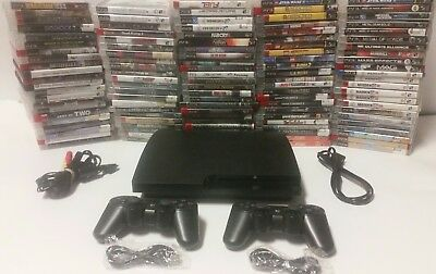 Playstation 3 Ps3 Console system 250gb, 320gb w/ 2 controllers, games FAST SHIP
